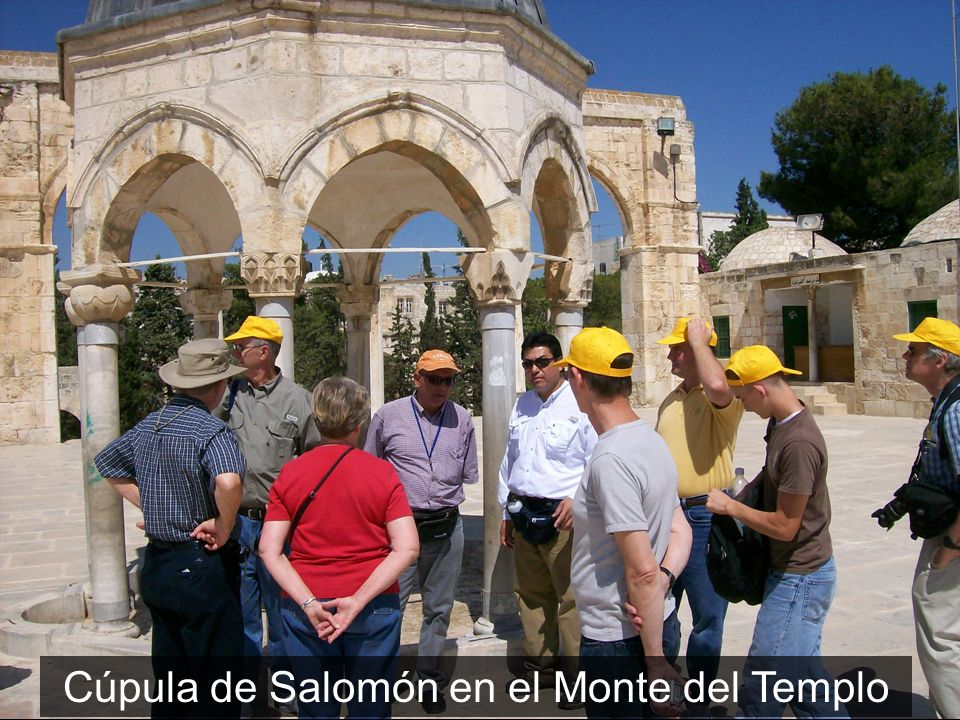 Cúpula de Salomón en el Monte del Templo