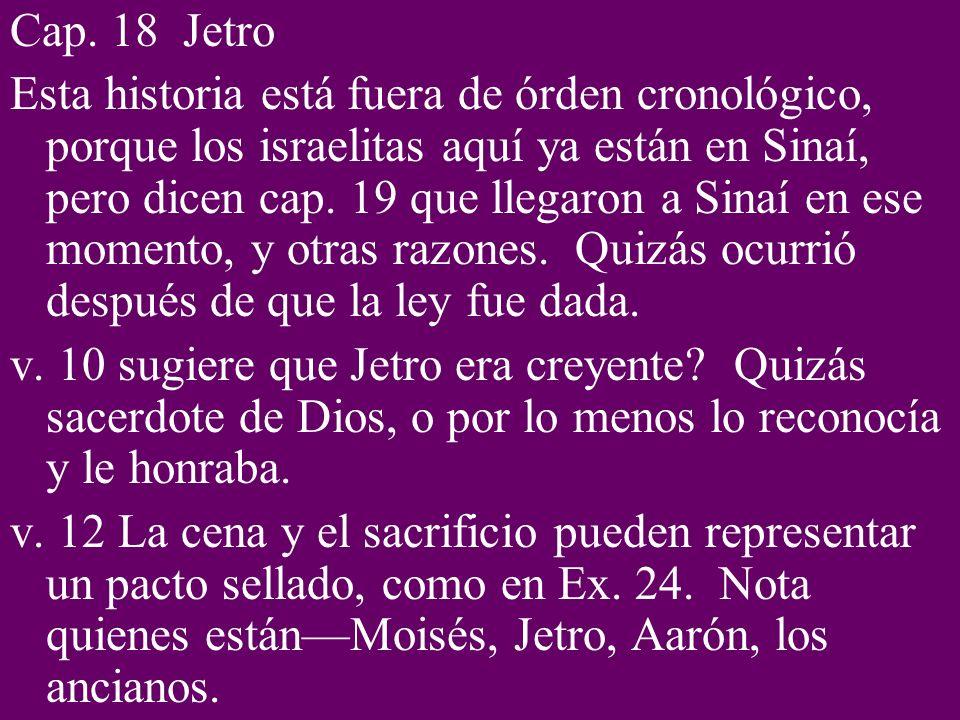 Cap. 18 Jetro