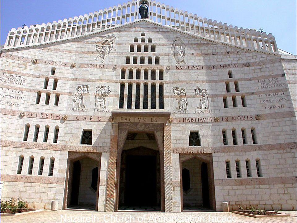 Nazareth Church of Annunciation facade