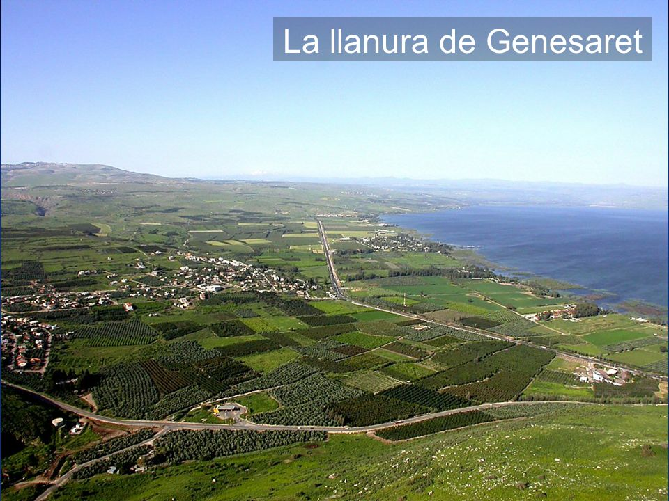 Plain of Gennesaret from Arbel
