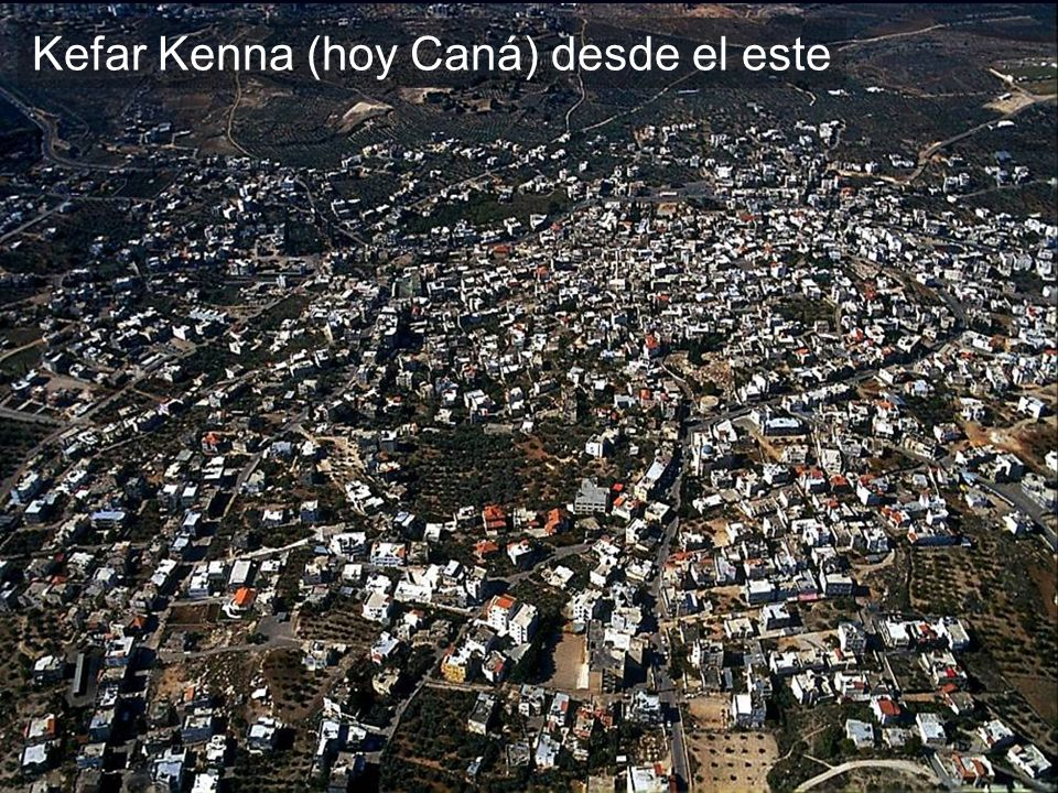 Kefar Kenna aerial from east