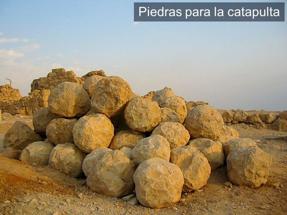Piedras para la catapulta