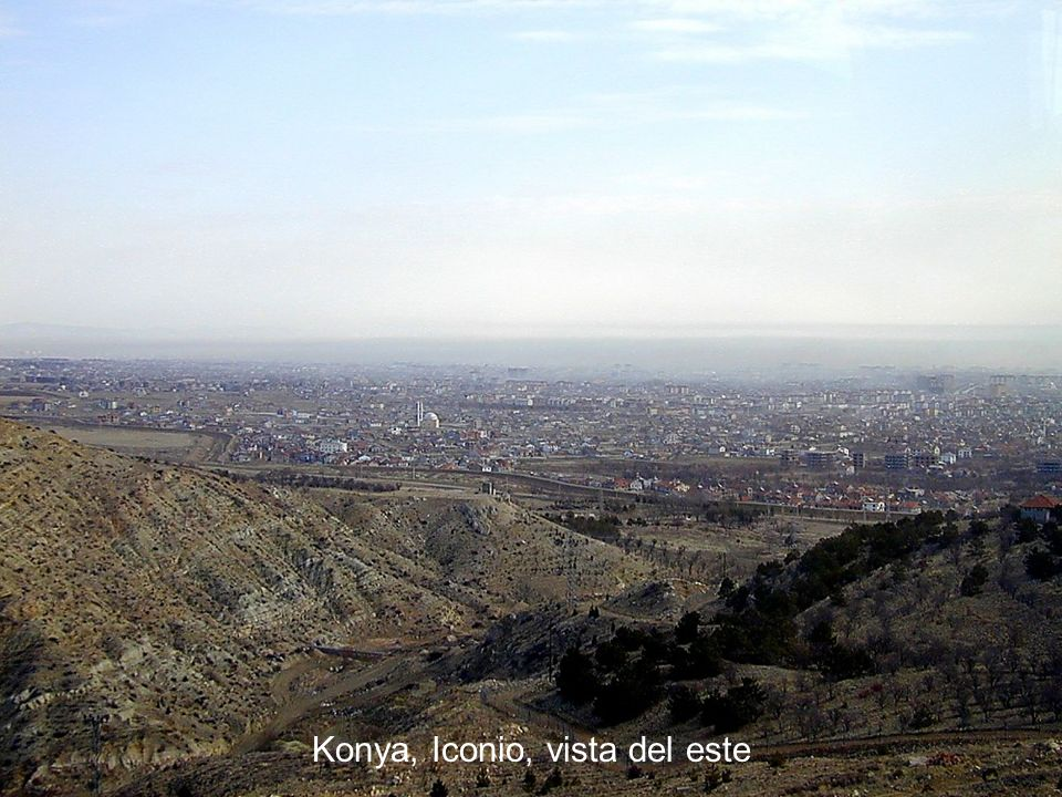 Konya, Iconium view from east