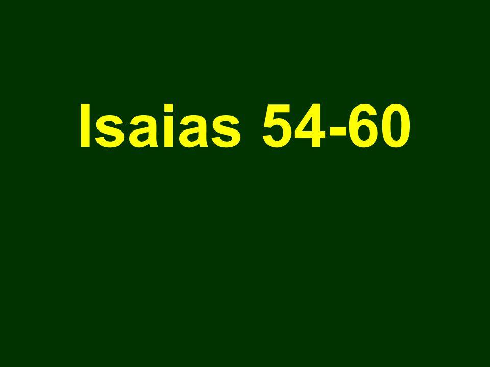 Isaias 54-60