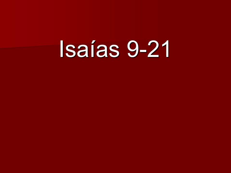 Isaías 9-21