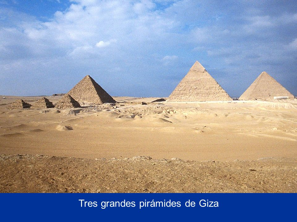 Three Great Pyramids of Giza