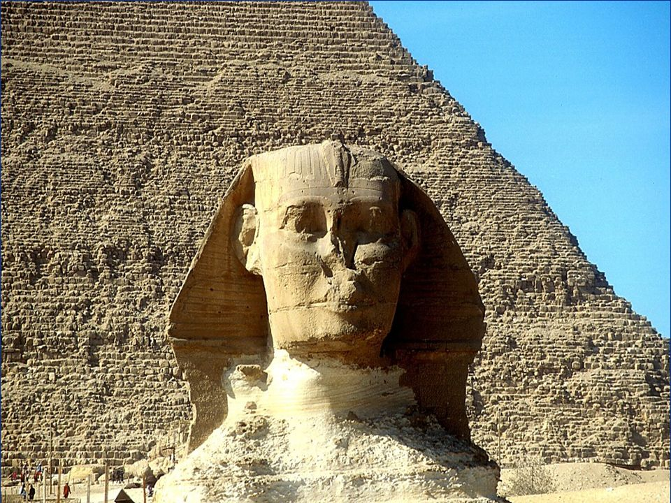 Sphinx s face Deterioration of the Sphinx