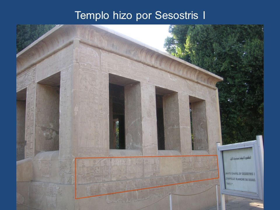 Templo hizo por Sesostris I