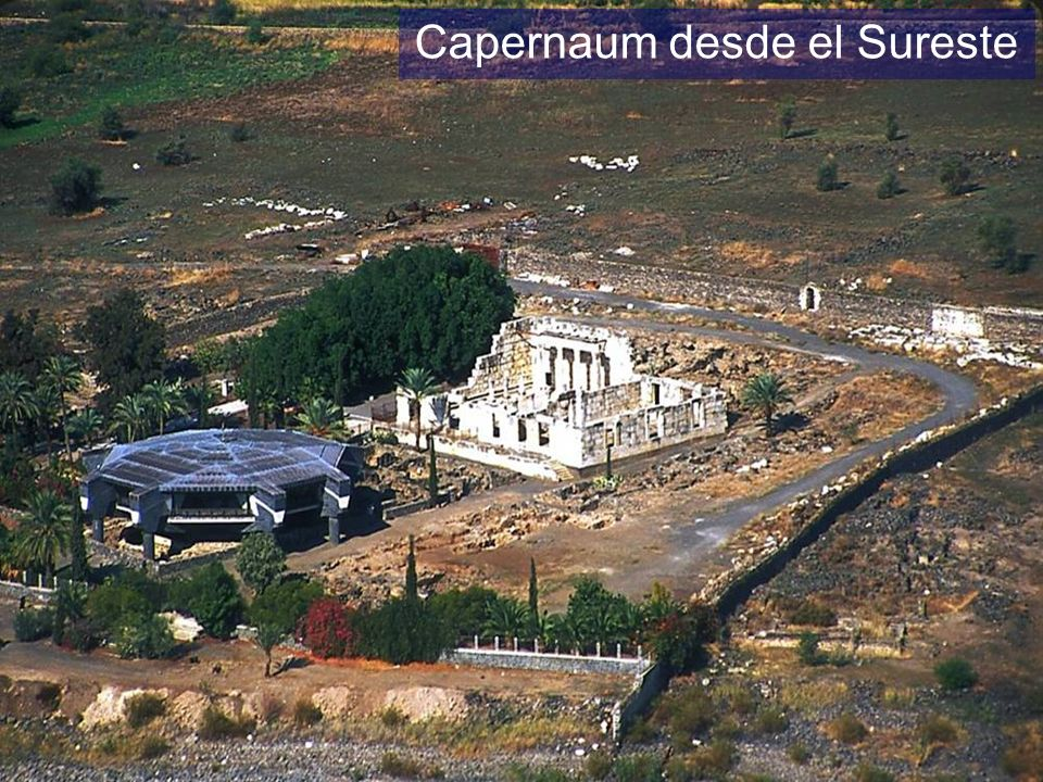 Capernaum aerial from southeast