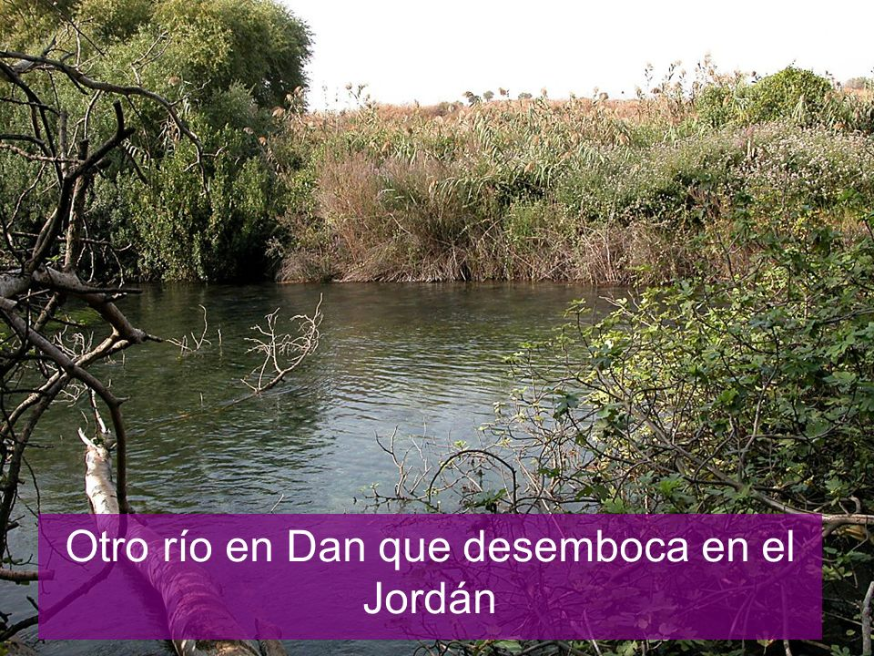 Dan headwaters of Jordan River
