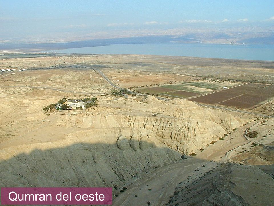 Qumran from west Qumran del oeste
