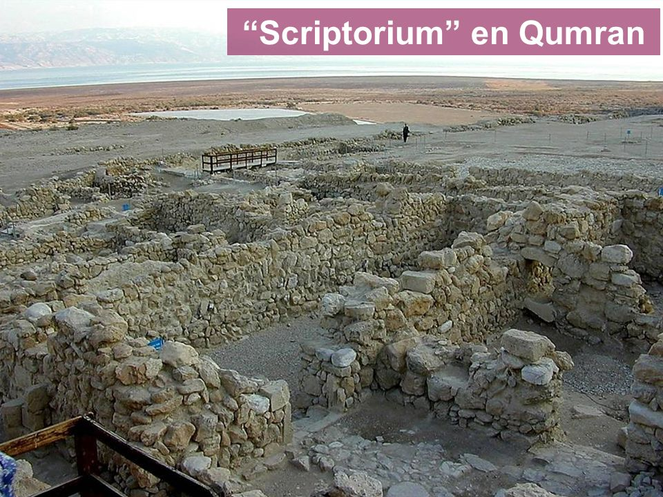 Scriptorium en Qumran