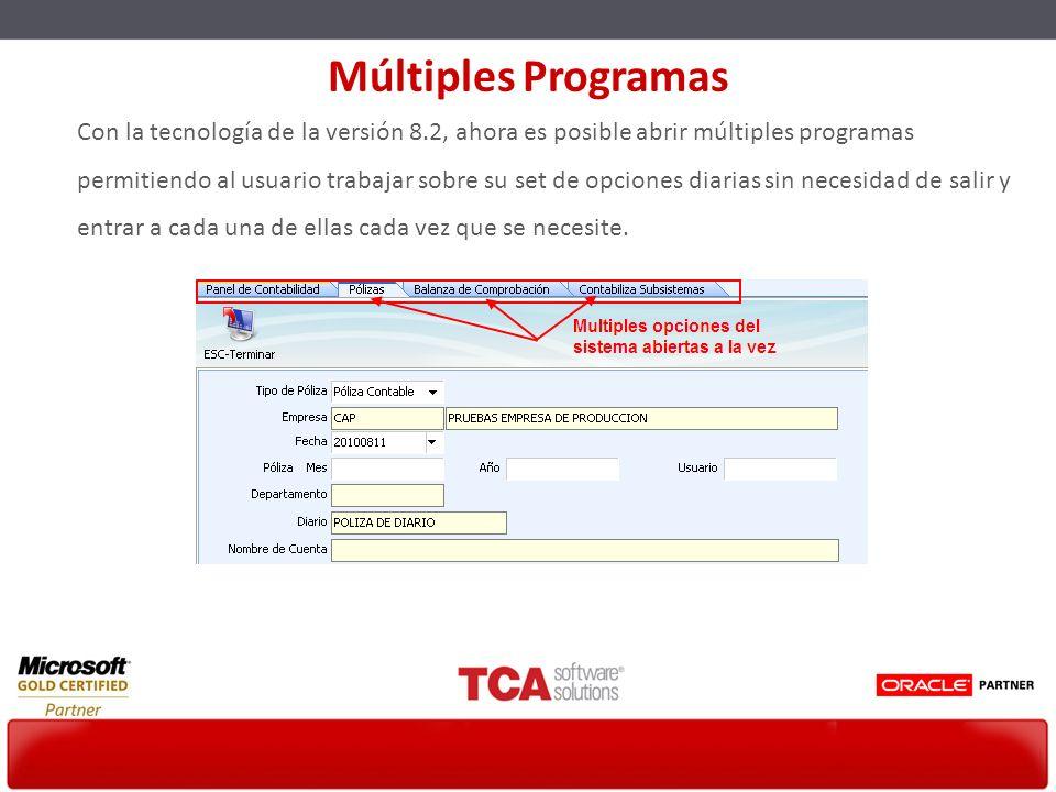 Múltiples Programas