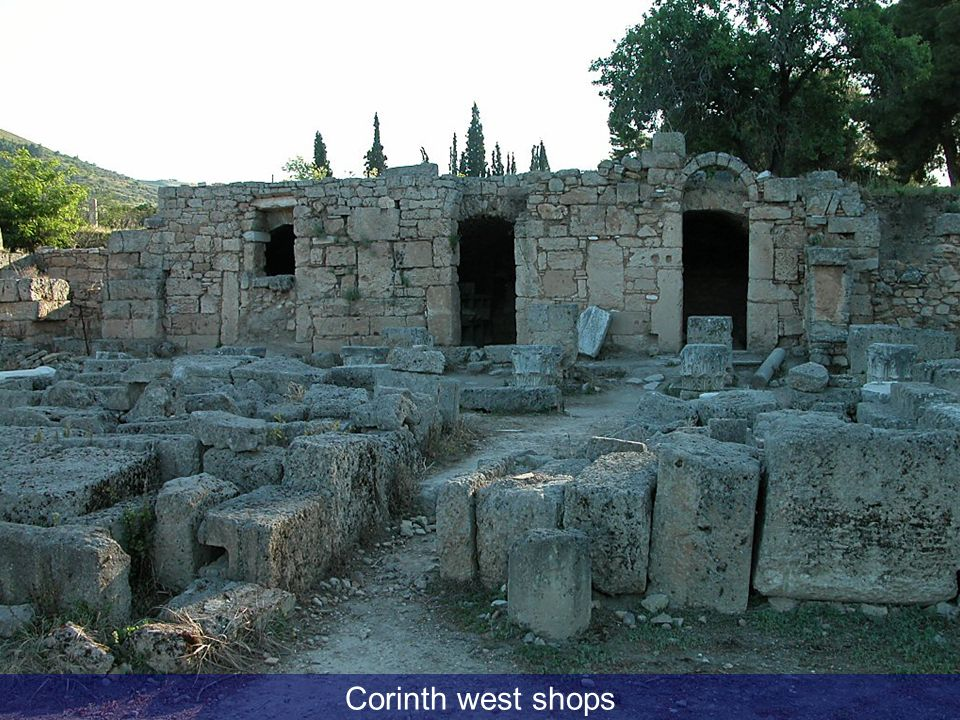 Corinth west shops Corinth west shops