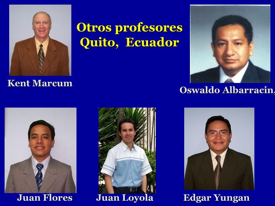 Otros profesores Quito, Ecuador