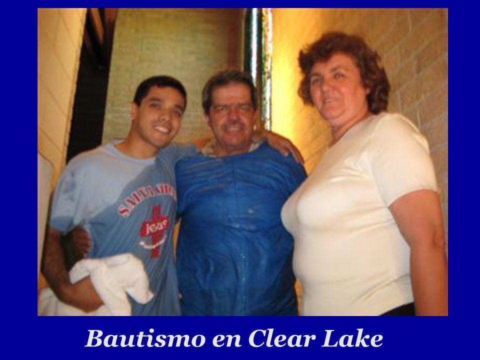 Bautismo en Clear Lake 21