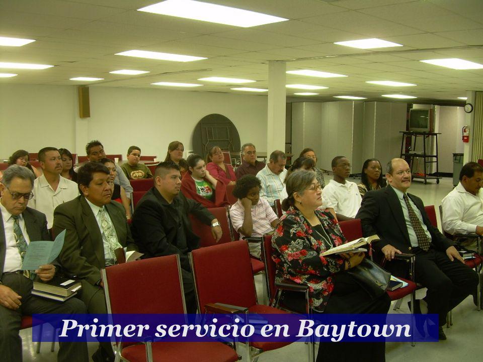 Primer servicio en Baytown