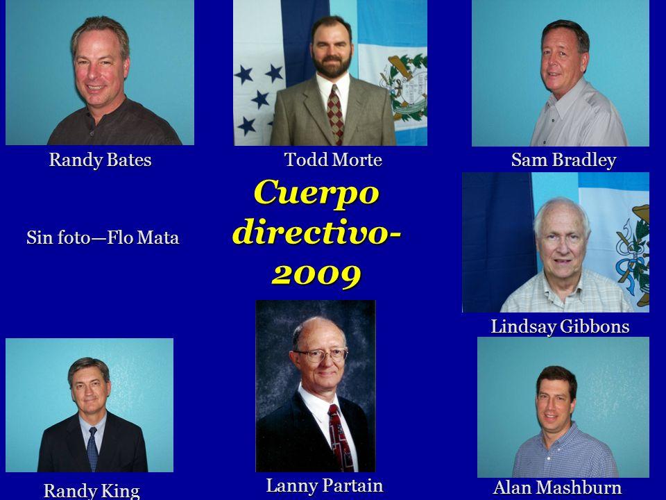 Cuerpo directivo-2009 Randy Bates Todd Morte Sam Bradley