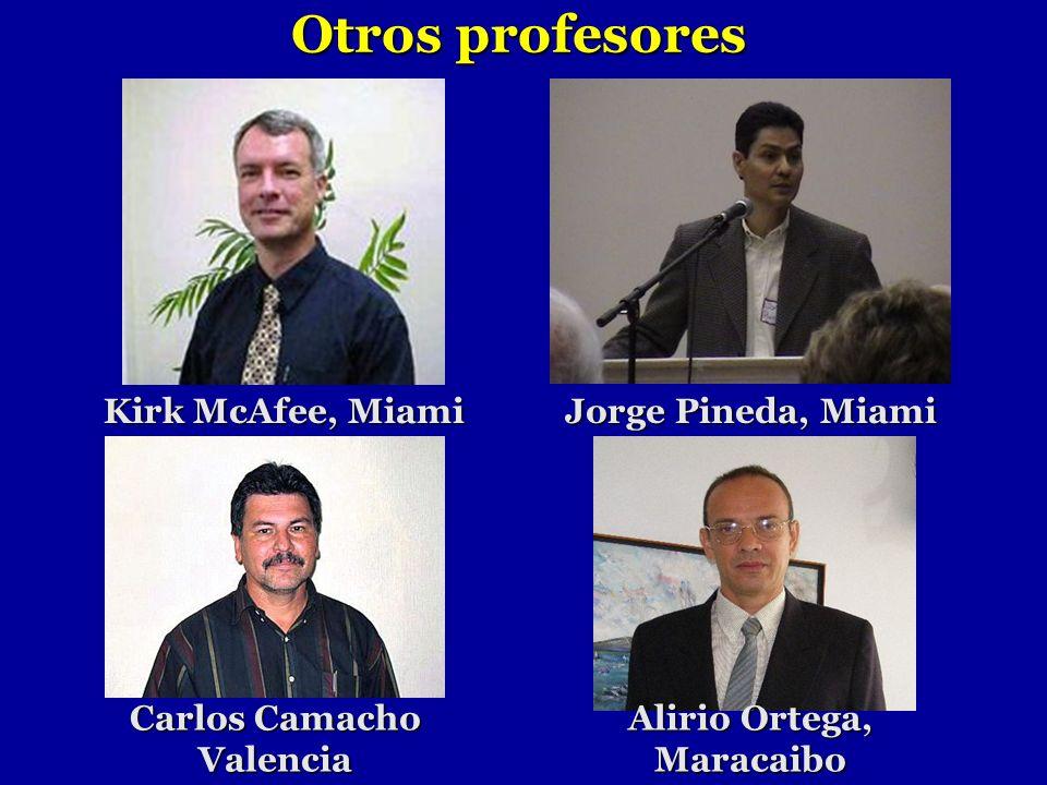 Carlos Camacho Valencia Alirio Ortega, Maracaibo
