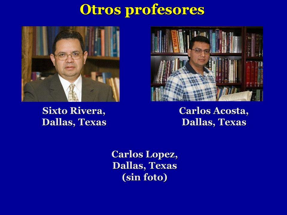 Otros profesores Carlos Acosta, Dallas, Texas