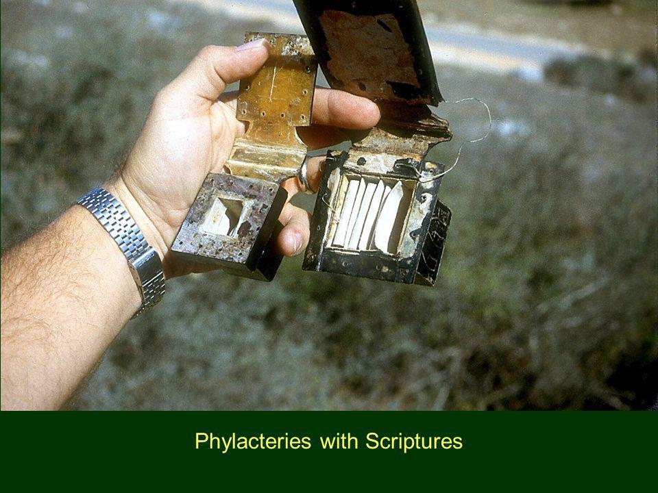 Phylacteries with Scriptures
