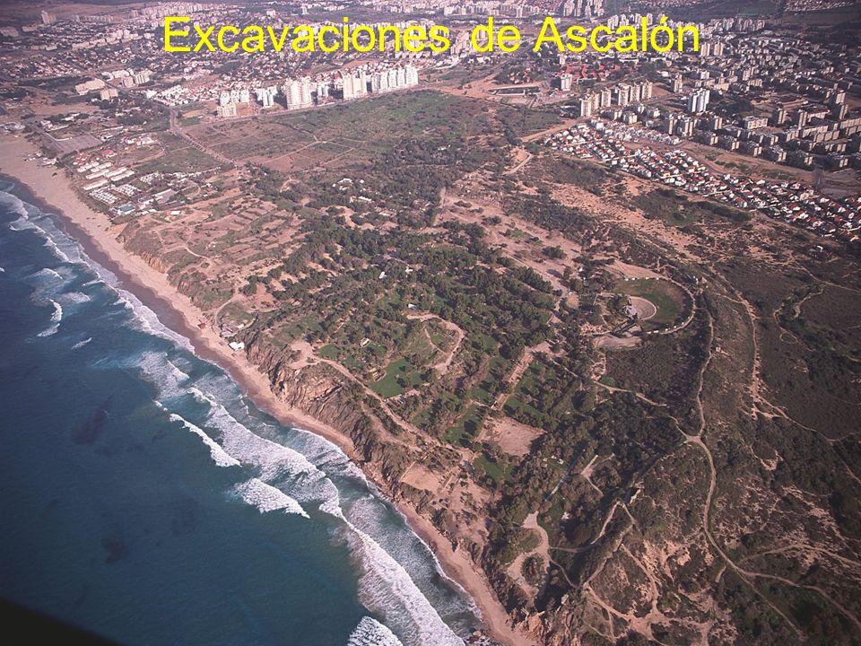 Excavaciones de Ascalón