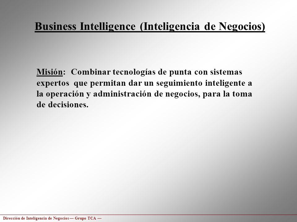 Business Intelligence (Inteligencia de Negocios)
