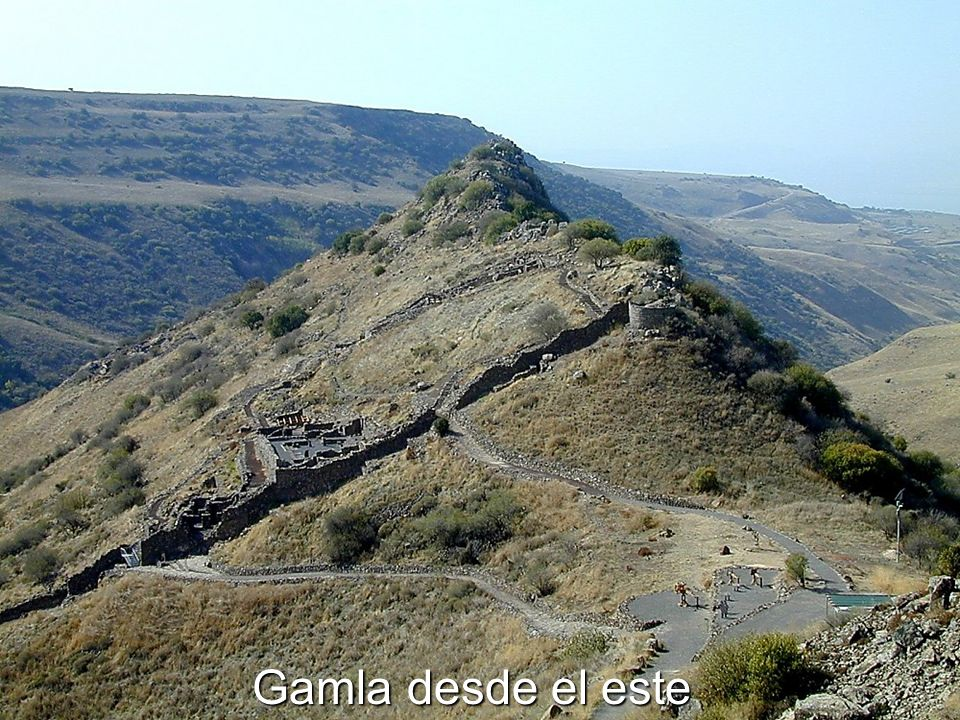 Gamla desde el este Gamla from east The Eastern Wall