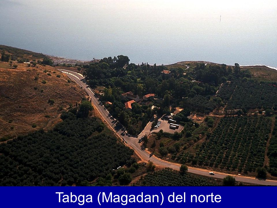 Tabgha aerial from north