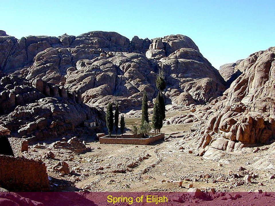 Spring of Elijah Spring of Elijah