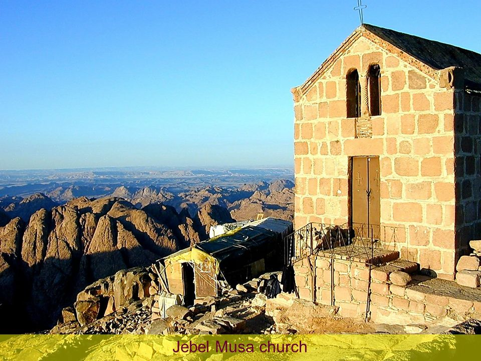 Jebel Musa church Jebel Musa church