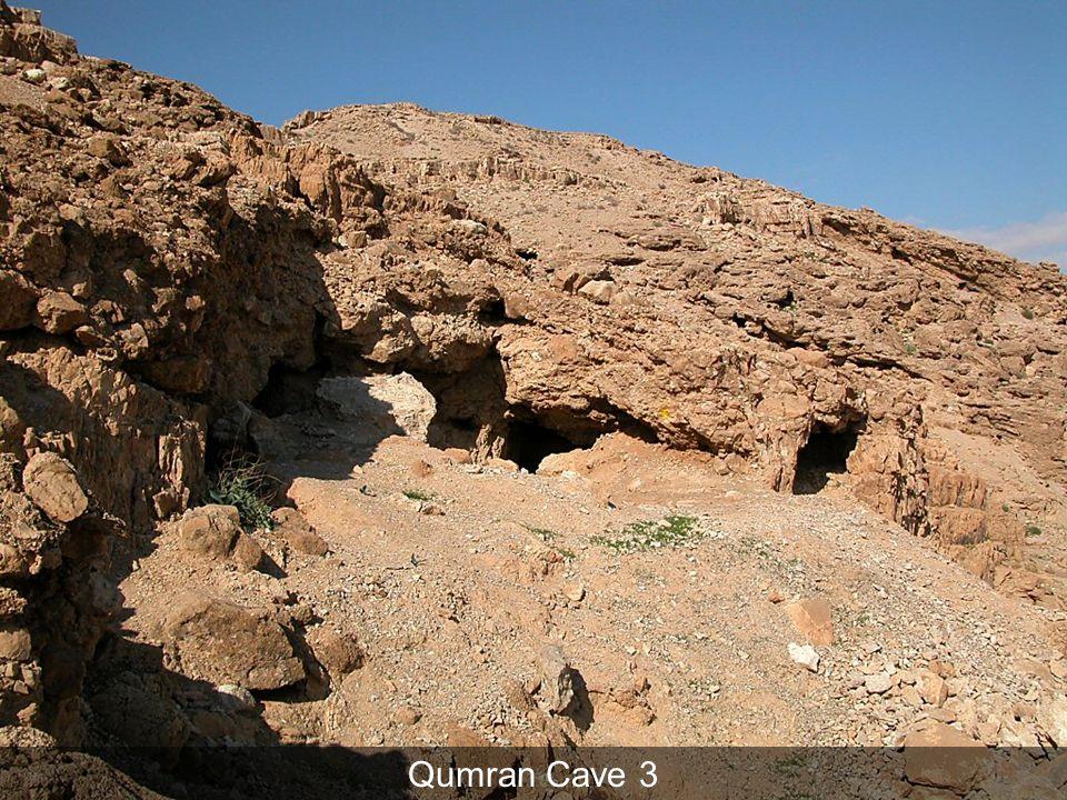 Qumran Cave 3 Qumran Cave 3 Cave 3