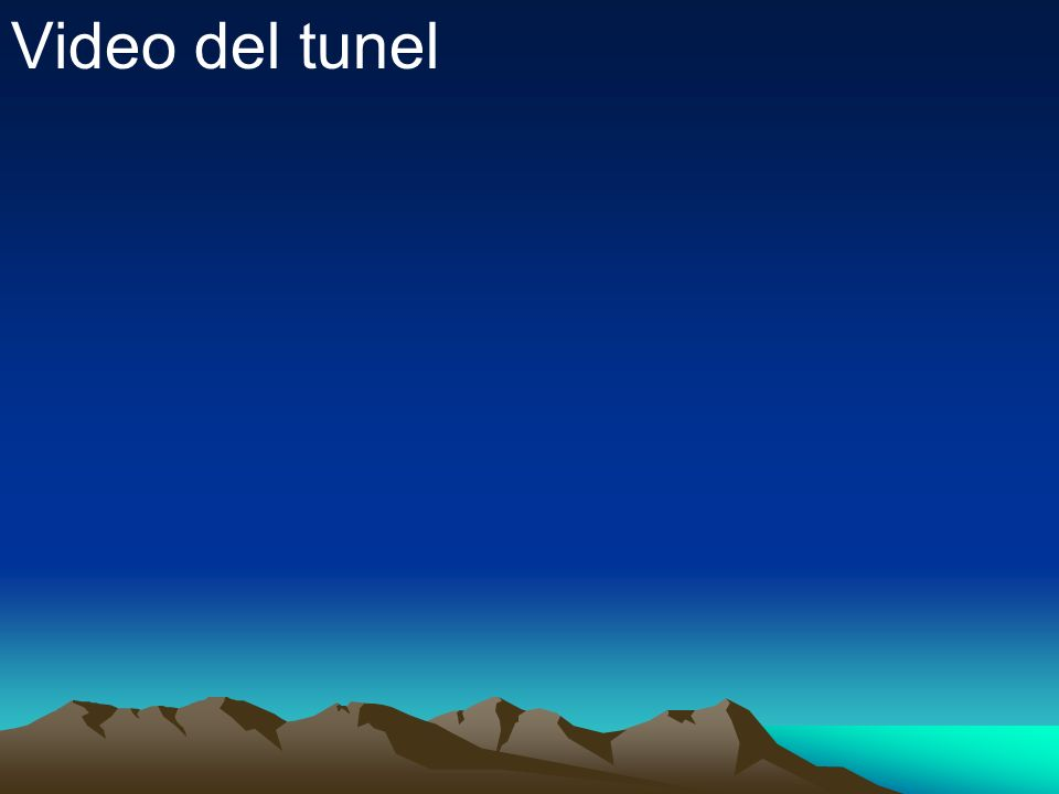Video del tunel