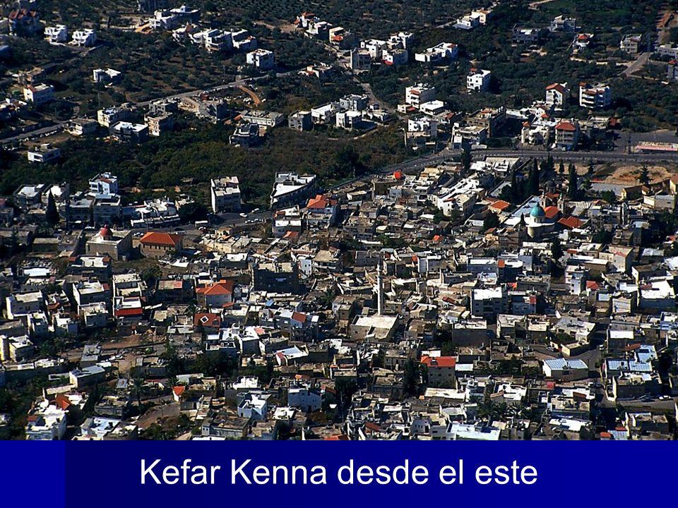 Kefar Kenna aerial from east