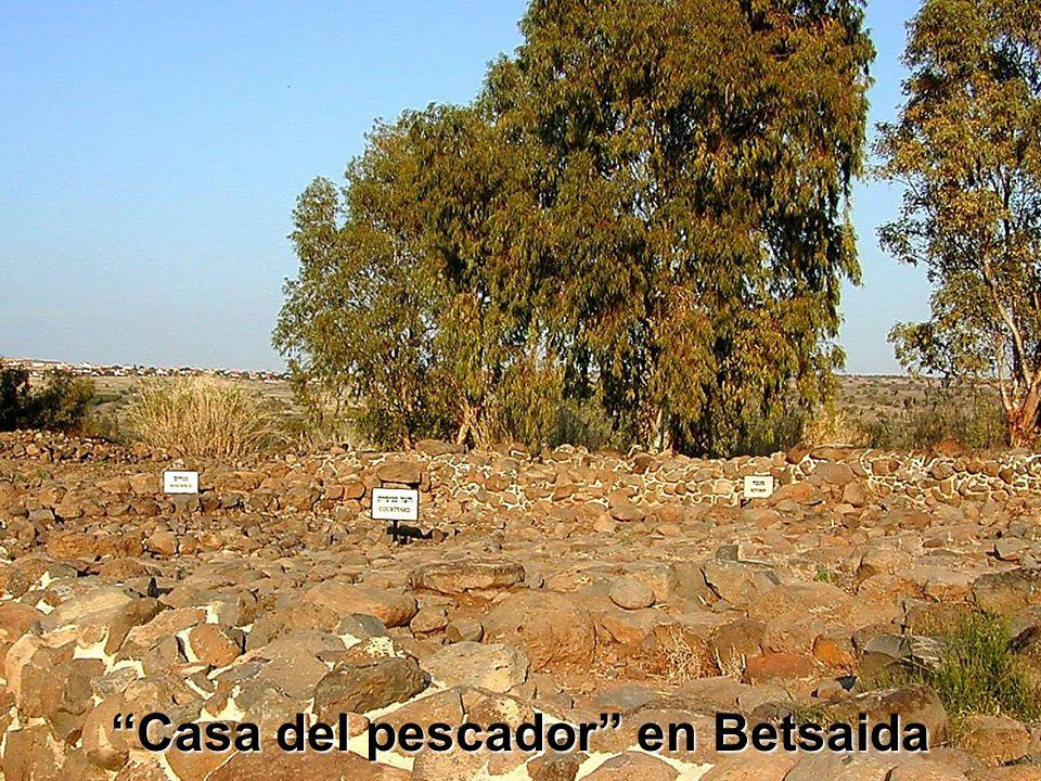 House of the fisherman at Bethsaida