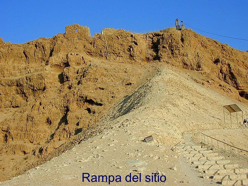 Masada siege ramp Rampa del sitio