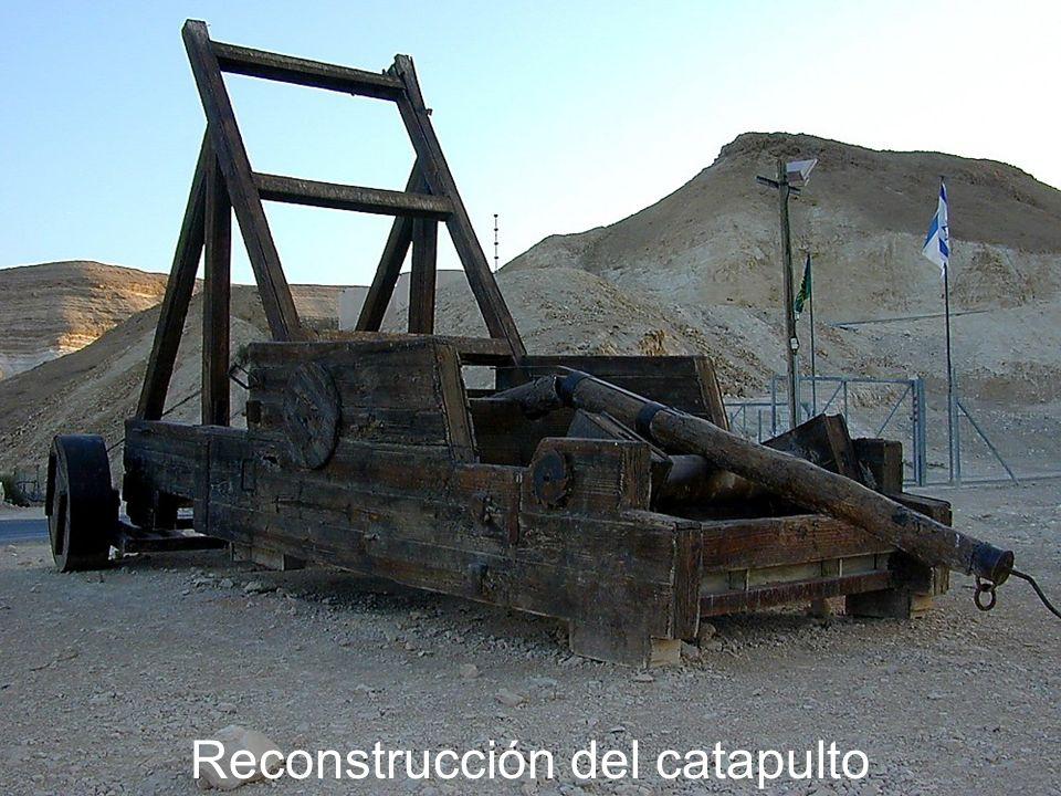 Masada catapult reconstruction