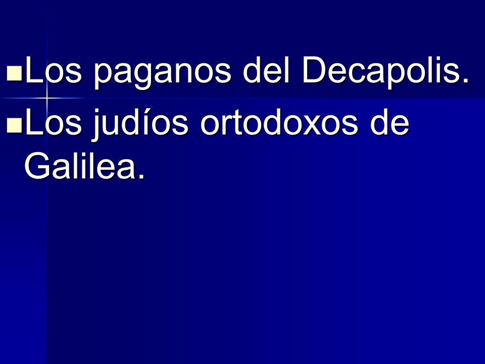 Los paganos del Decapolis.
