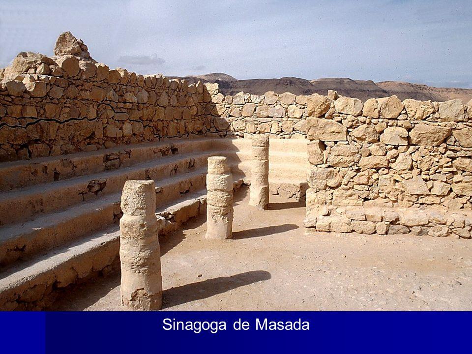 Masada synagogue Sinagoga de Masada