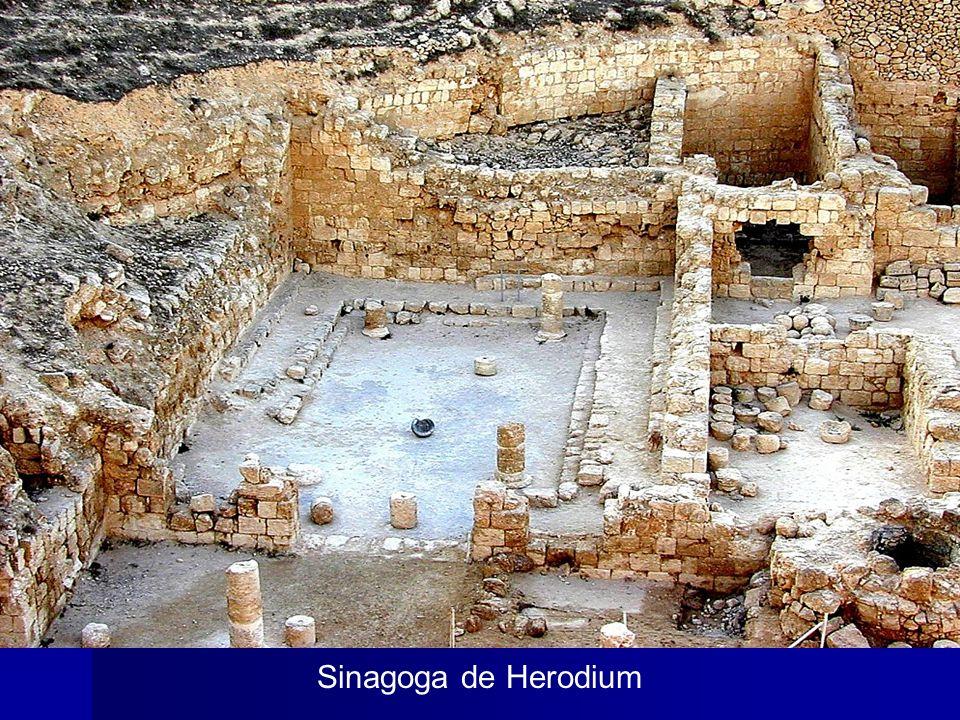 Herodium synagogue Sinagoga de Herodium The Synagogue