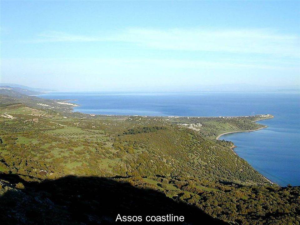 Assos coastline Assos coastline