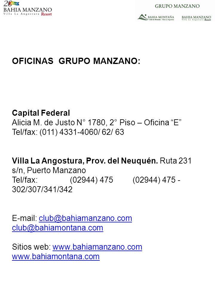OFICINAS GRUPO MANZANO: