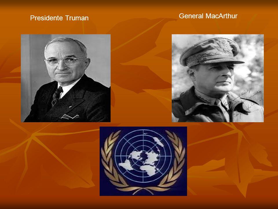General MacArthur Presidente Truman