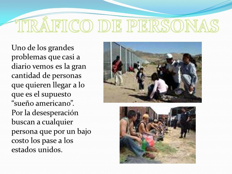 TRÁFICO DE PERSONAS