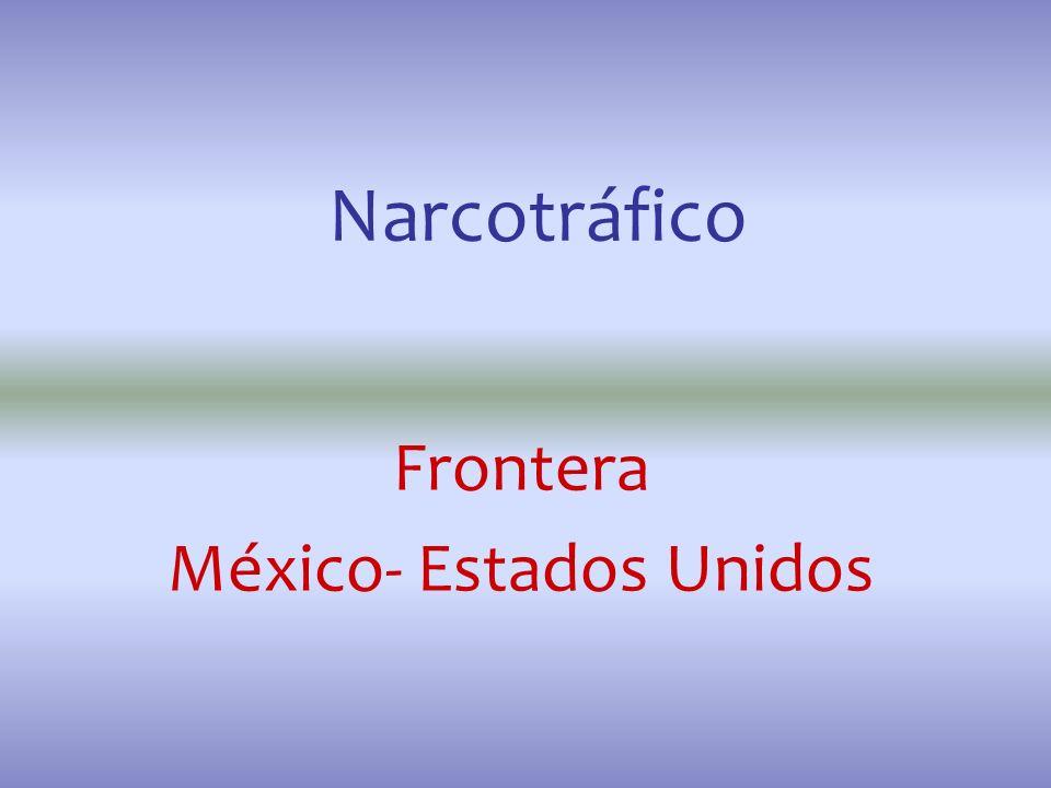 Frontera México- Estados Unidos