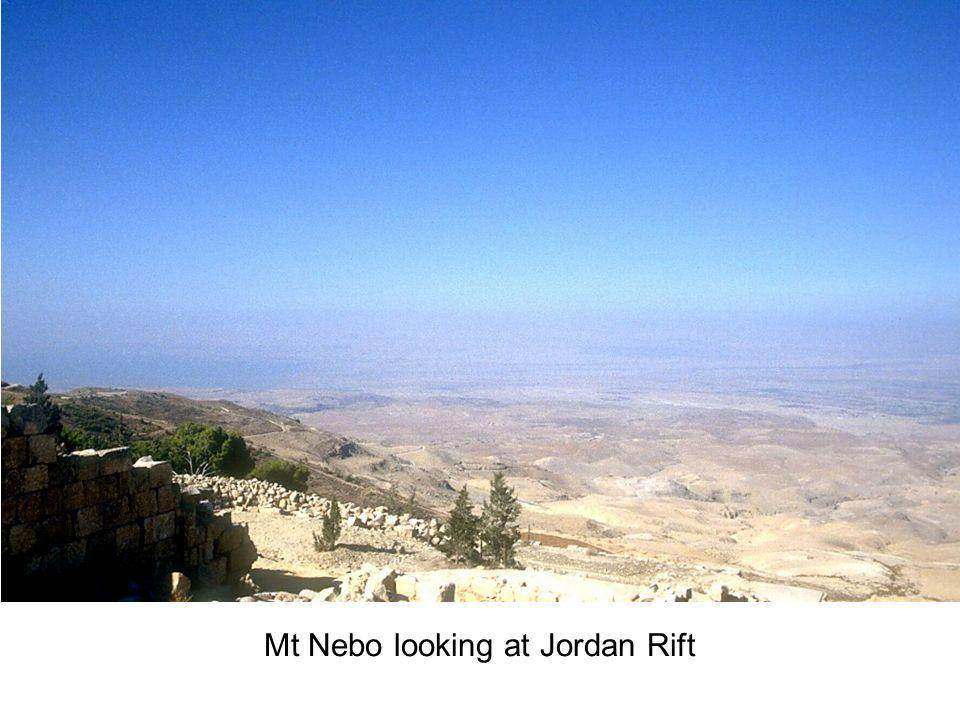 Mt Nebo looking at Jordan Rift
