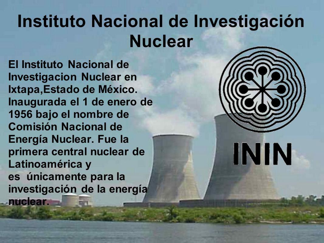 Instituto Nacional de Investigación Nuclear