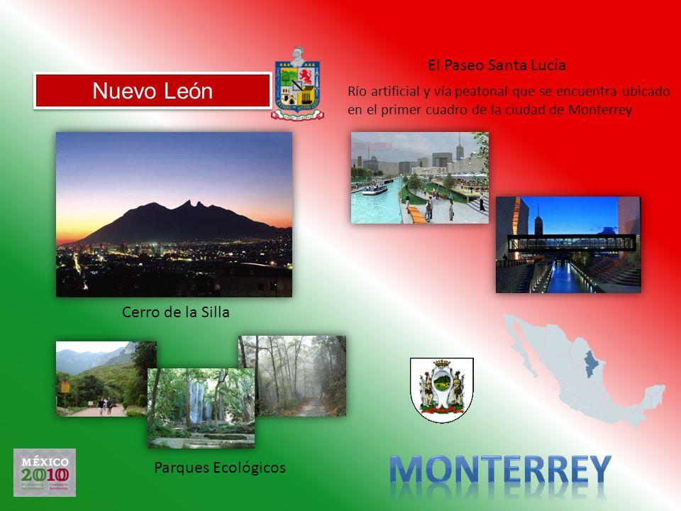 Monterrey Nuevo León El Paseo Santa Lucía Cerro de la Silla