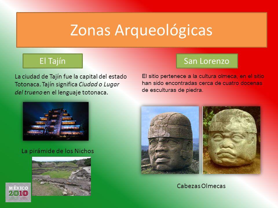 Zonas Arqueológicas El Tajín San Lorenzo La pirámide de los Nichos