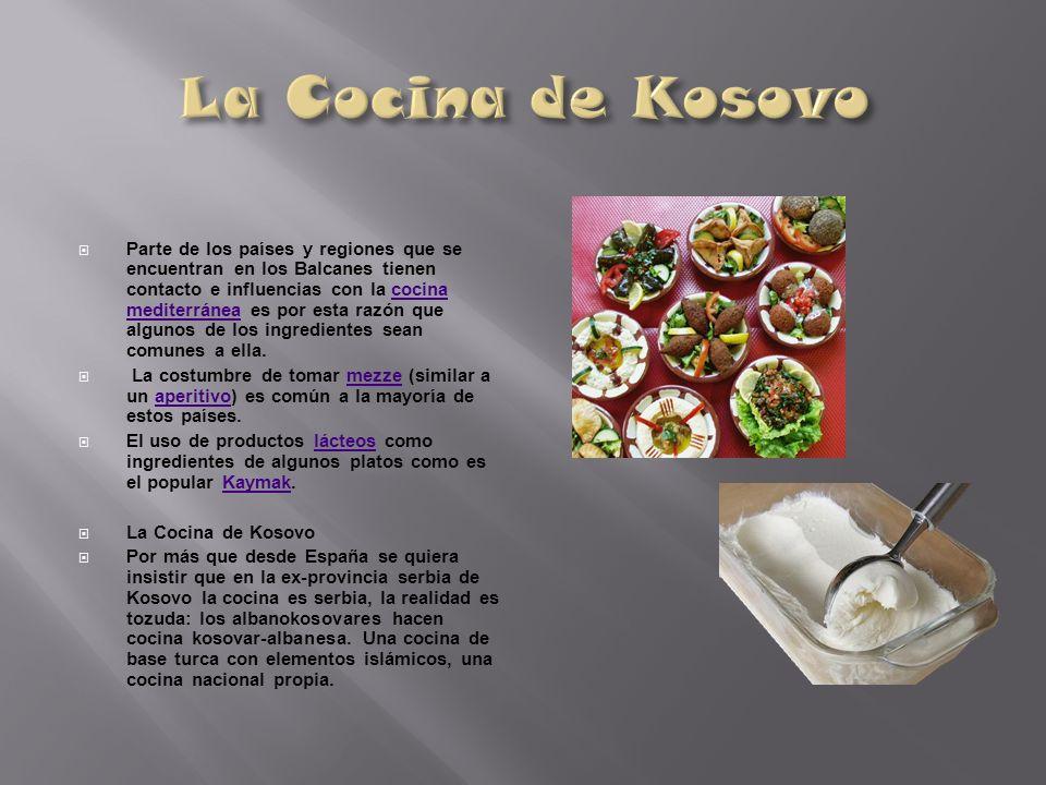 La Cocina de Kosovo